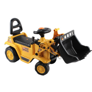 Kids Rideon Yellow Bulldozer