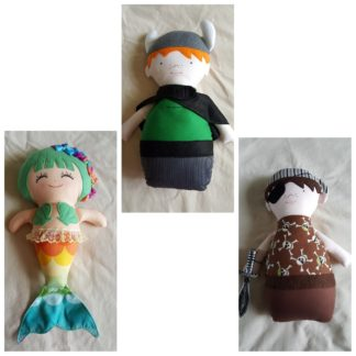 Handmade Softie Dolls