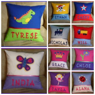 Handmade to Order personalised cushions