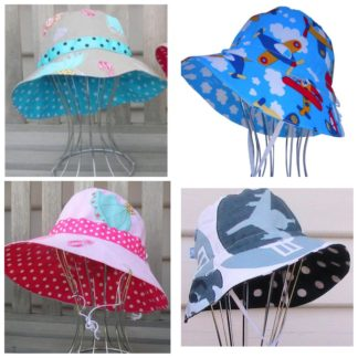 EJ Kids Adjustable Reversible Hats