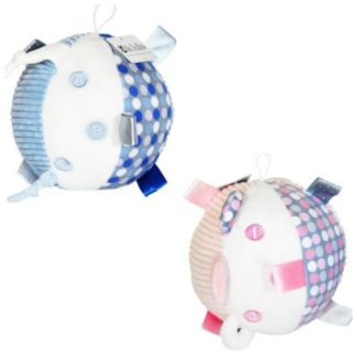 Plush Sensory Ball Rattle