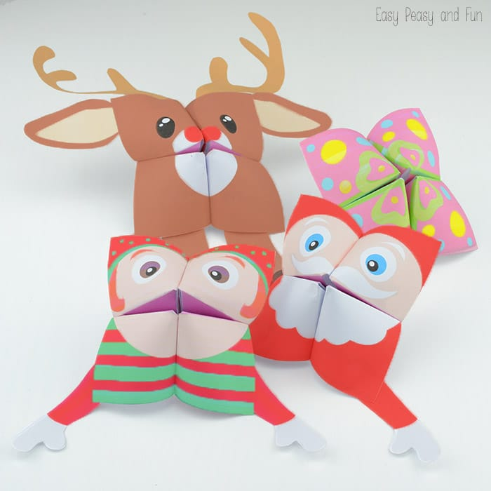 Christmas-Cootie-Catchers