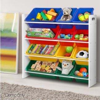 Removable Plastic Toy Organiser Storage Rack