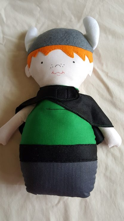 Handmade Softie Doll - Viking