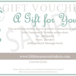 Little Treasures n Trinkets Gift Voucher