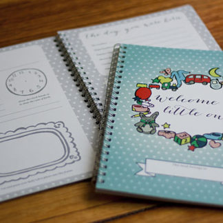 Handmade Baby Journal