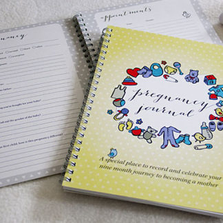Handmade Pregnancy Journal