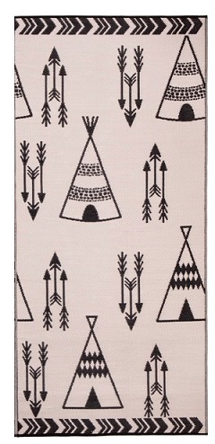 Teepee Indoor Outdoor Rug