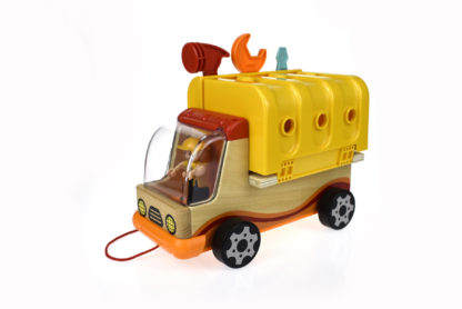 Wooden Foldable Work Bench Truck 1
