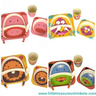 Bamboozoo Dinnerware 5 Piece Set