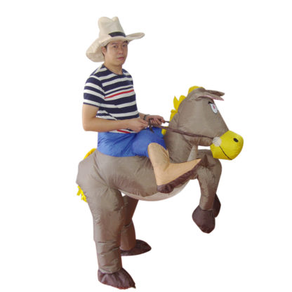 Cowboy Fancy Dress Inflatable Costume