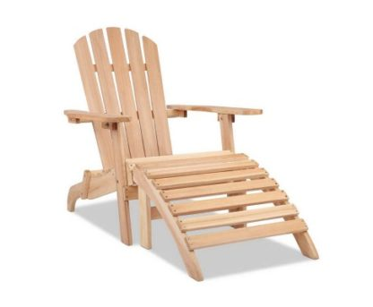 Gardeon Outdoor Wooden Beach Lounge Chair