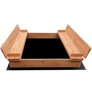 Keezi Kids Wooden Outdoor Sandpit Set