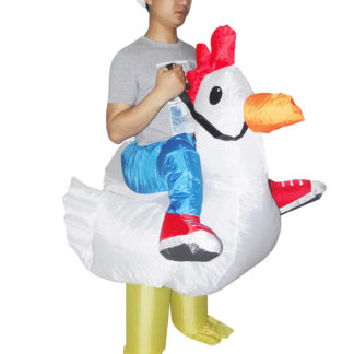 Chicken Fancy Dress Inflatable Costume